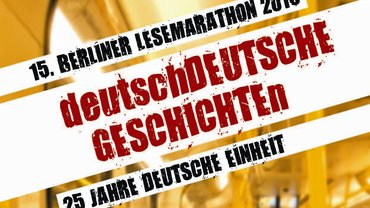 15. Lesemarathon Berlin am 27. September 2015 - VS (ver.di Fachgruppe Literatur) Berlin