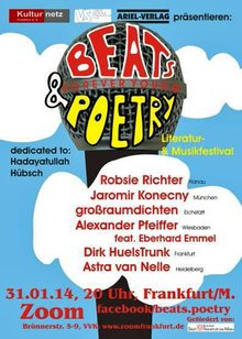 FOREVER YOUNG – BEATS & POETRY | Literatur- & Musikfestival 2014 | VS Landesverband Hessen